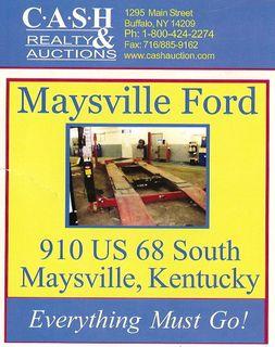 MaysvilleFordAuction