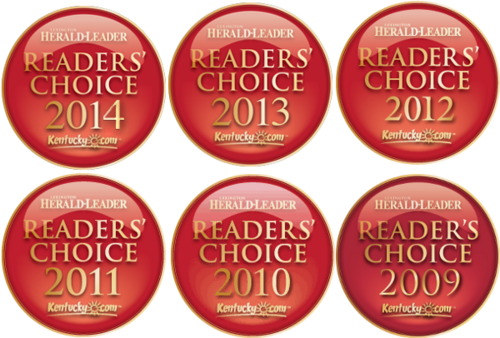 Readers' Choice - 6 in a row!